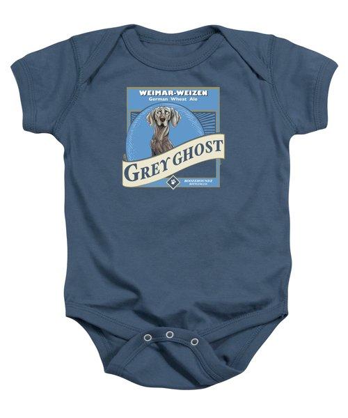 Grey Ghost Weimar-weizen Wheat Ale Baby Onesie