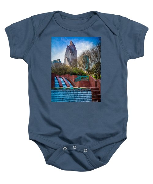 Houston Fountain Baby Onesie