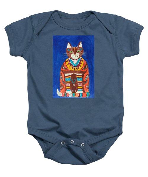 Huey Cat Baby Onesie