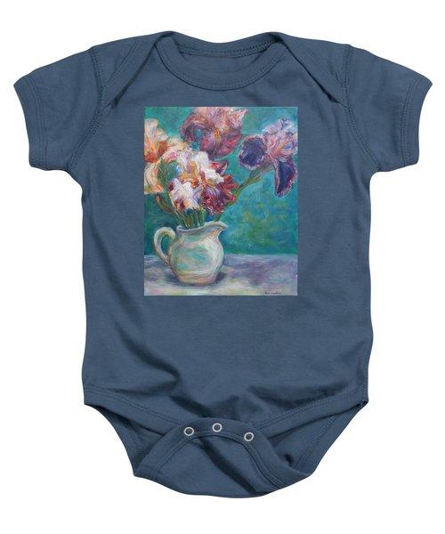 Iris Medley - Original Impressionist Painting Baby Onesie