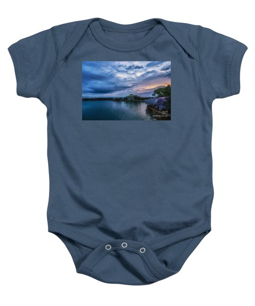 Jefferson Memorial Dawn Baby Onesie