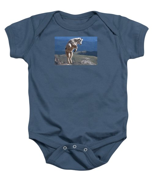 Baby Onesie featuring the photograph Jump by Gary Lengyel