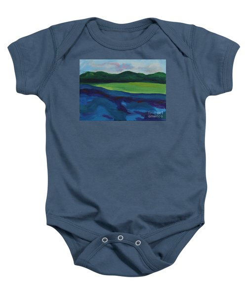 Lake Visit Baby Onesie