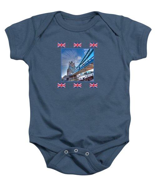 London Landmark - Tower Bridge Baby Onesie