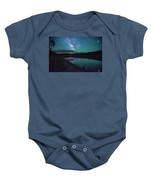 Milky Way Reflections Baby Onesie
