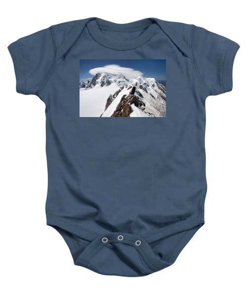 Mont Blanc And Ufo Baby Onesie