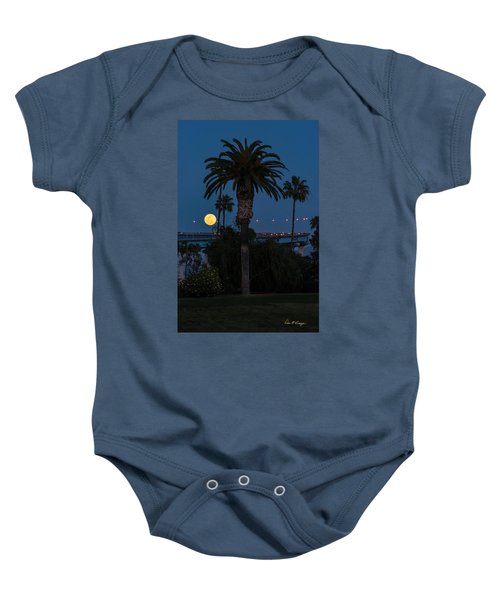 Moon On The Rise Baby Onesie