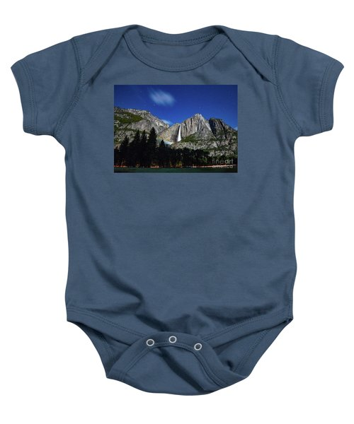Moonbow And Louds  Baby Onesie
