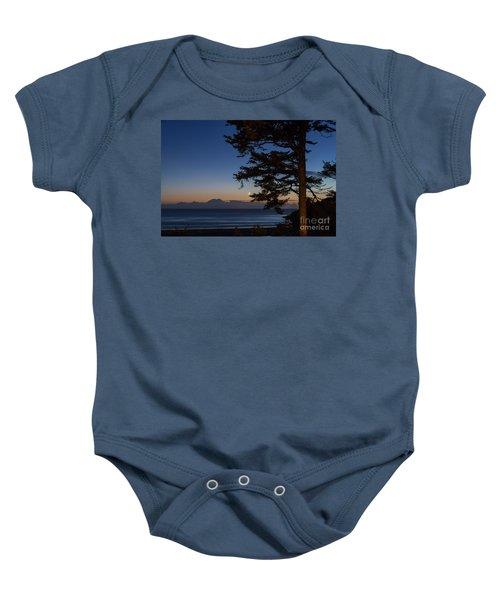 Moonlight At The Beach Baby Onesie
