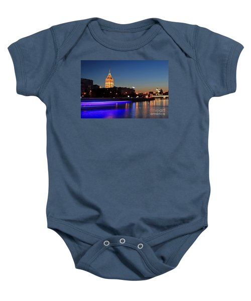 Moscow River Baby Onesie