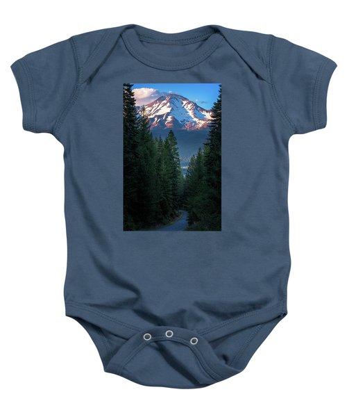 Mount Shasta - A Roadside View Baby Onesie