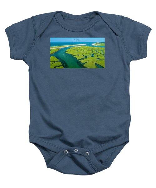 Nature Kayaking Baby Onesie