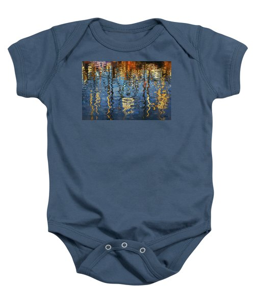 New Bedford Waterfront No. 5 Baby Onesie