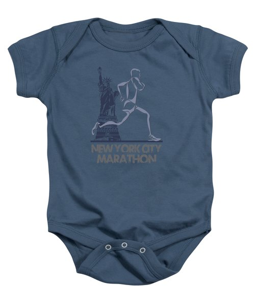 New York City Marathon3 Baby Onesie