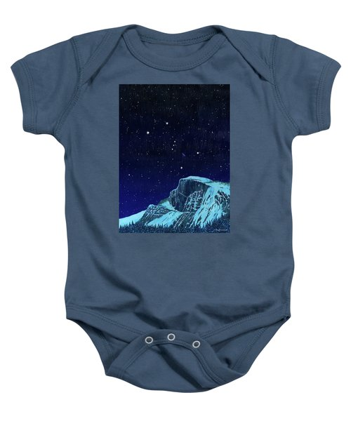 Orion Over Yosemite Baby Onesie