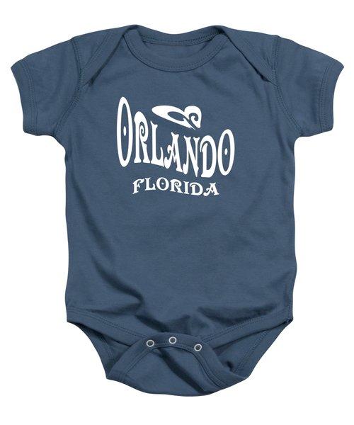 Orlando Florida Design Baby Onesie
