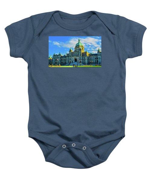 Parliament Victoria Bc Baby Onesie