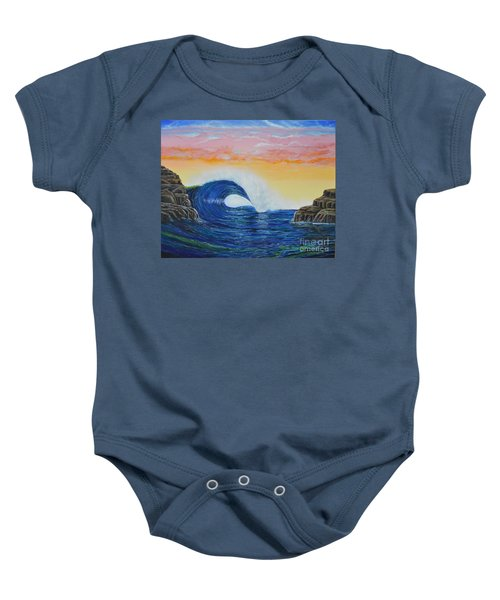 Perfect Curl Baby Onesie