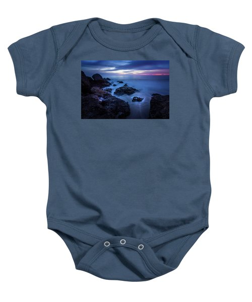 Point Dume Rock Formations Baby Onesie