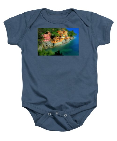 Portofino Park Bay Baby Onesie