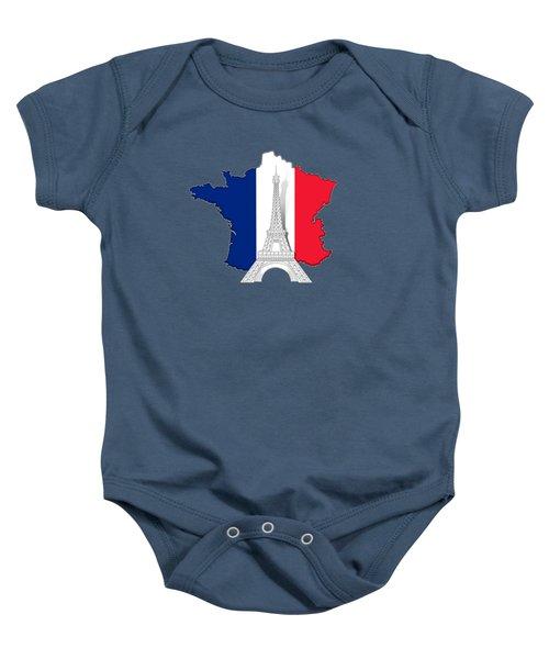 Pray For Paris Baby Onesie