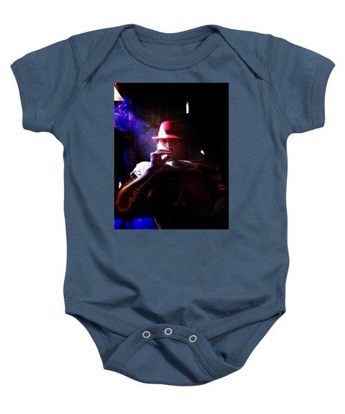Purple Haze Boss  Baby Onesie