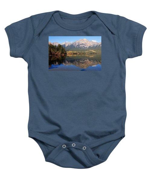 Pyramid Mountain And Pyramid Lake 2 Baby Onesie