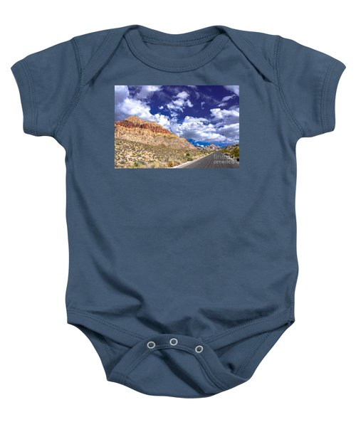 Red Rock Canyon Baby Onesie