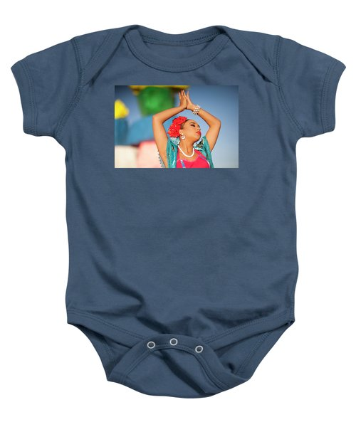 Cathy Rocks Baby Onesie