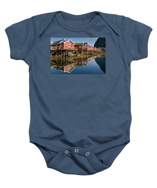 Rorbus With Reflections Baby Onesie