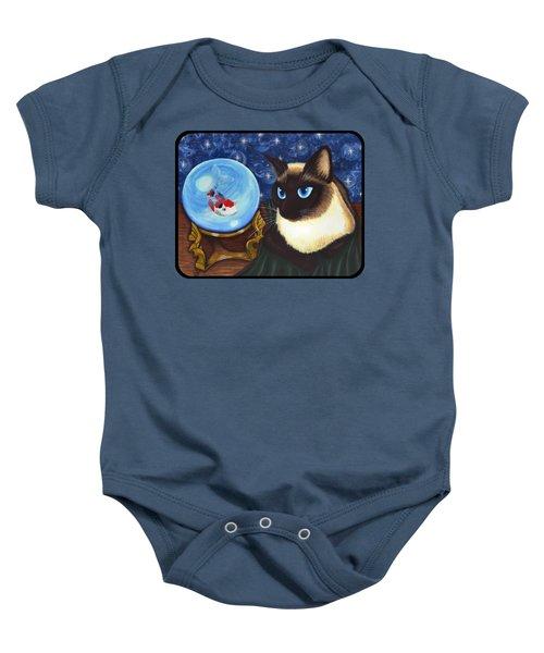 Rue Rue's Fortune - Siamese Cat Koi Baby Onesie