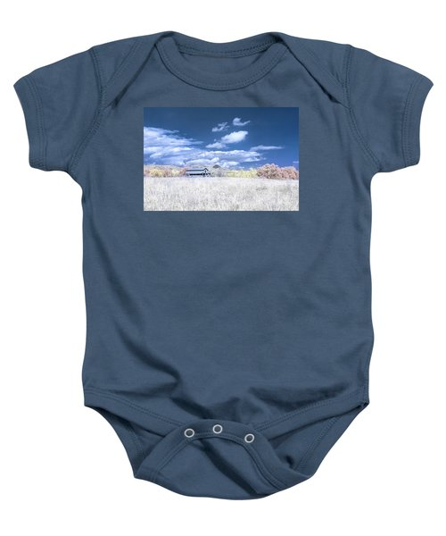 S C Upstate Barn Faux Color Baby Onesie