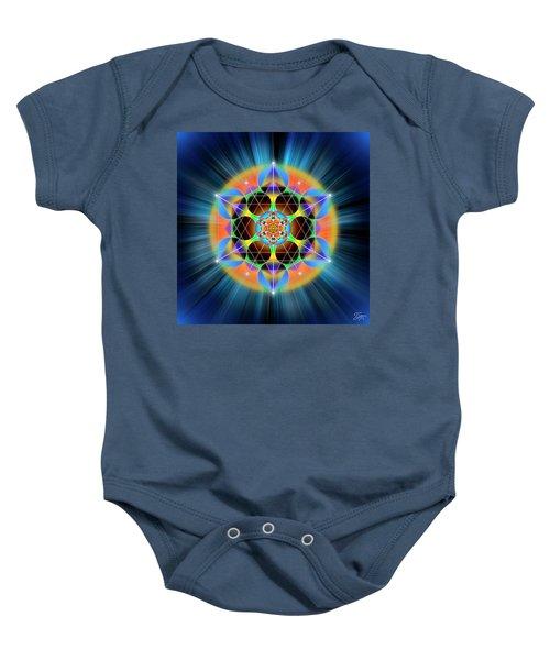 Sacred Geometry 709 Baby Onesie