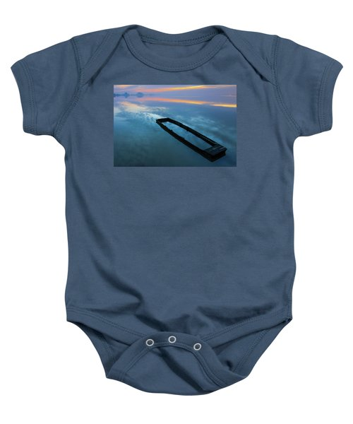 Sailing In The Sky Baby Onesie