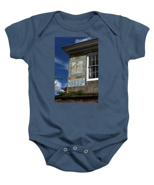 Salisbury Sundial Baby Onesie