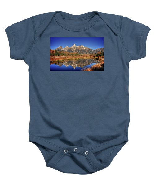 Schwabacher Landing Grand Teton National Park Baby Onesie