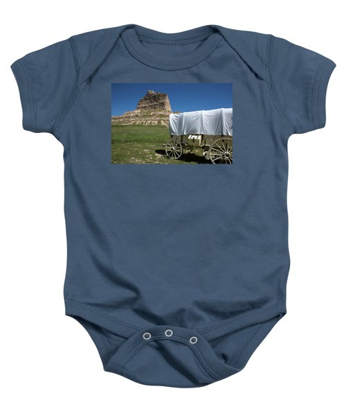 Scotts Bluff National Monument Nebraska Baby Onesie