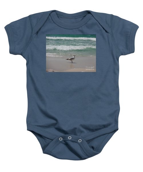 Seagull Baby Onesie by Megan Cohen