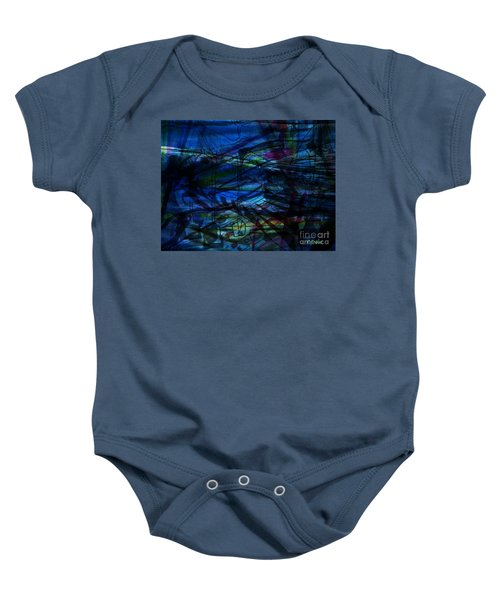 Seaweed And Other Creatures Baby Onesie