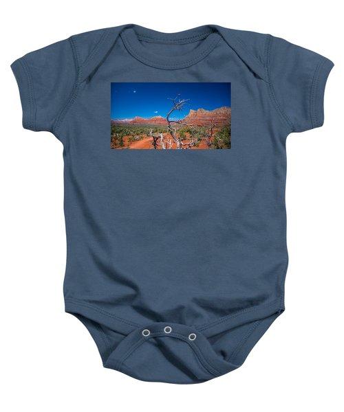 Sedona Blue Baby Onesie