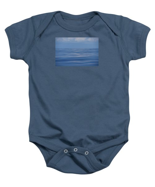 Baby Onesie featuring the photograph Serene Pacific by Jennifer Ancker