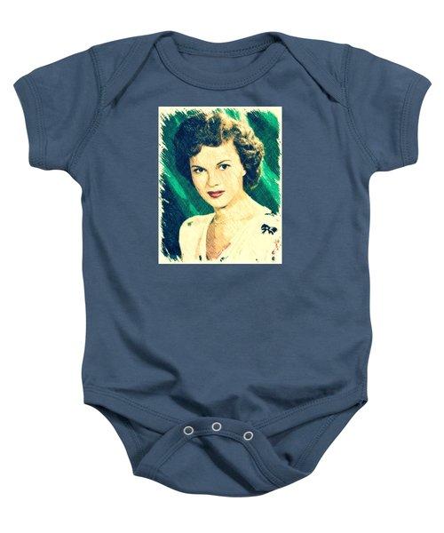 Shirley Temple By John Springfield Baby Onesie by John Springfield