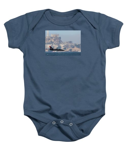 Skimming The Bay Baby Onesie