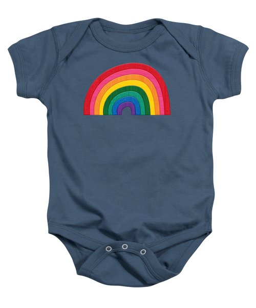 Somewhere Over The Rainbow Baby Onesie by Pristine Cartera Turkus