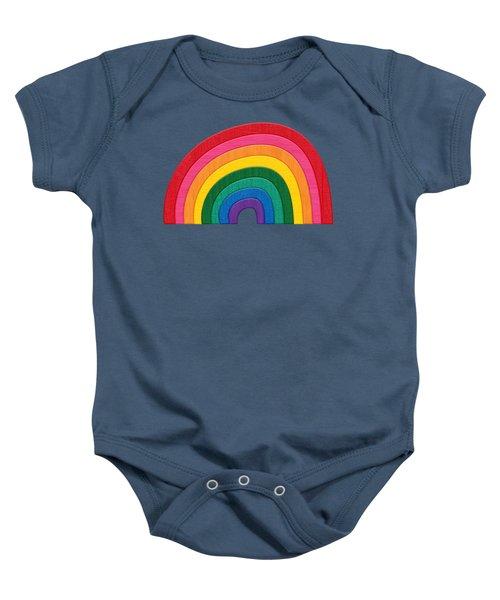 Somewhere Over The Rainbow Baby Onesie