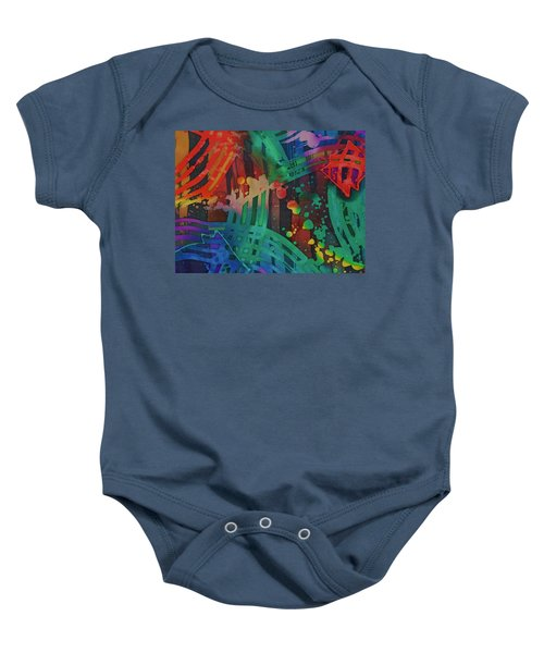 Squares And Other Shapes 2 Baby Onesie