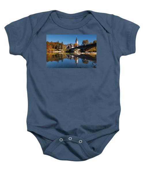 St. John The Baptist On The Lake Bohinj Baby Onesie