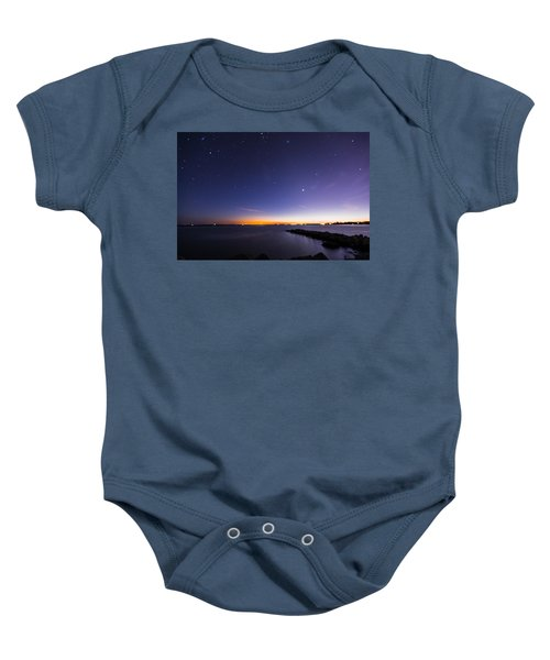 Stonington Skies Baby Onesie
