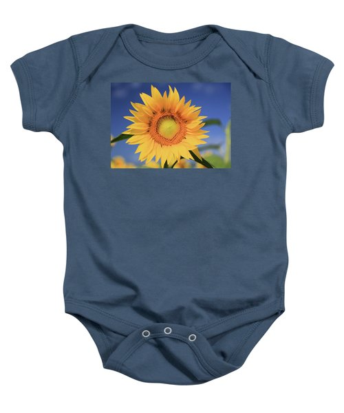 Sunflower Baby Onesie