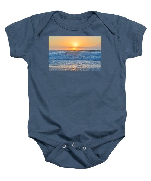 Sunrise 18th Of June Baby Onesie